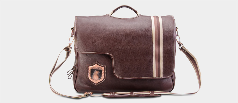 Bolsa De Mao Para Viagem Masculina : Bolsa masculina de couro para notebook nw
