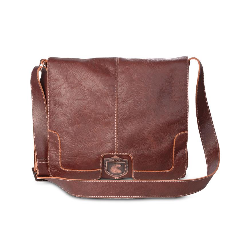Bolsa De Couro Masculina Armani : Bolsa masculina de couro para notebook estilo carteiro nw
