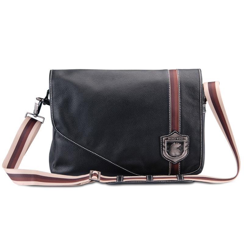 Bolsa De Couro Masculina Armani : Bolsa masculina de couro para notebook nw c