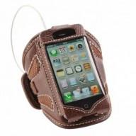 Armband suporte braço couro iPhone 4 e 4S corrida braço NW052 Nordweg