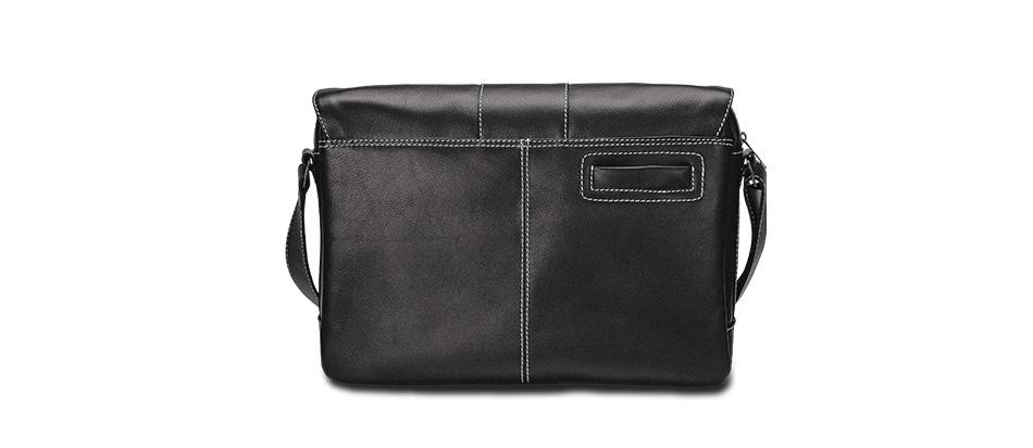 Bolsa masculina de couro para notebook Nordweg City NW068