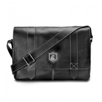 Bolsa masculina de couro para notebook Schuster NW066 NW066
