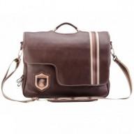 Bolsa masculina de couro legítimo para notebook Nordweg NW053 café